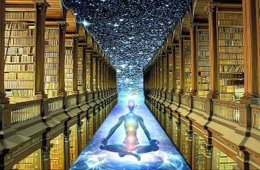 The akashic records are a level of consciousness.